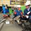 現代重工業が開発した、重さ15キロの溶接ロボット