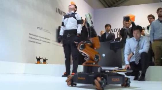 Robot - kuka_award