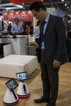 ちょっとジーボと競合しそうなFuro-iホーム。(http://www.bbc.com/より)