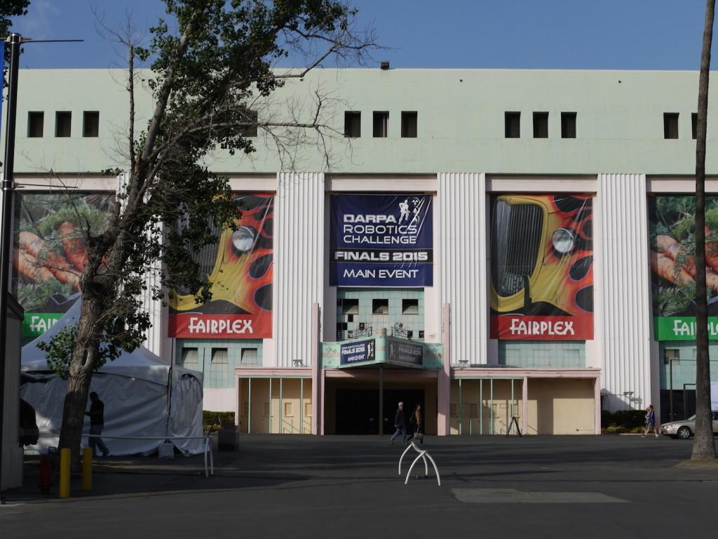 明日からDRC決勝戦が始まるポモナのフェアプレックス会場