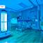 病院にまた新しいロボット。こちらは消毒殺菌