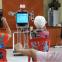 テクノロジー先進国のシンガポールでは、お年寄りの体操を指導するのもロボット